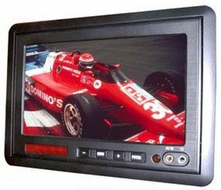 """Zicom (ZH70WL) 7"""" TFT LCD Universal Mountable Headrest Monitor with Built-in Dual IR"""