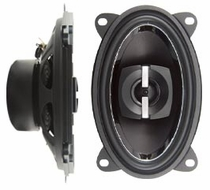 "Logic (ZR460) 220W 4""x6"" 2-Way High Power Speakers, Pair"