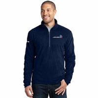 2014 USA Pro Challenge Men's 1/4 Zip Microfleece Pullover - Navy
