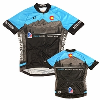 Pearl Izumi USA Pro Challenge Stage 2 Aspen/Crested Butte Jersey - Baby Blue/Grey