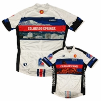 Pearl Izumi USA Pro Challenge Stage 4 Colorado Springs Jersey - White/Blue