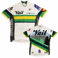 Pearl Izumi USA Pro Challenge Stage 6 Vail Jersey - White/Green/Yellow