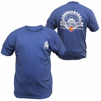US Pro Challenge Gear Label Tee - Blue