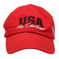 USA Pro Challenge Slouch Cap - Red