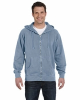 Embroidered Sweatshirts by Authentic Pigment Full-Zip Hood Sweatshirt