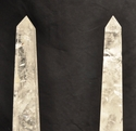 Rock Crystal Obelisks