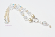 """From This Day Forward"" Crystal and Pearl Beaded Necklace"