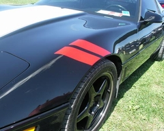 1984-1996 Front Fender Accent Stripes