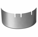 1989-1996 Heater Fan Cover Polished Stainless Steel