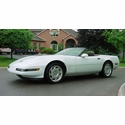 1991 White Convertible Corvette - Terry G.