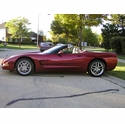2000 C5 Magnetic Red Convertible Corvette - Scott A.