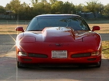 2001 C5 Torch Red Corvette Coupe - Randy B.
