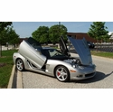 2005 C6 Machine Silver Corvette Coupe - The Batmovil - David O.