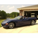 2007 C6 Le Mans Blue Convertible - Jeff R.