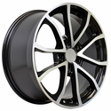 2013 Corvette 60th Anniversary - 427 Centennial Special Edition Cup Style Wheels : Black w/Machined Face