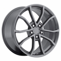 2013 Corvette 60th Anniversary - 427 Centennial Special Edition Cup Style Wheels : Comp Grey