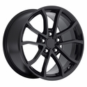 2013 Corvette 60th Anniversary - 427 Centennial Special Edition Cup Style Wheels : Gloss Black