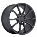 2013 Corvette 60th Anniversary - 427 Centennial Special Edition Cup Style Wheels : Satin Black