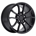 2013 Corvette 60th Anniversary - 427 Centennial Special Edition - Cup Style Wheels (Set) 18x8.5/19x10 : 1997-2004 C5 & Z06