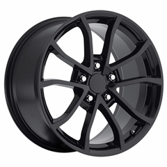 2013 Corvette 60th Anniversary - 427 Centennial Special Edition - Cup Style Wheels (Set) - Gloss Black : 18x8.5 / 19x10 2006-2013 C6