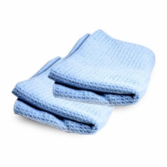 Adam's Polishes - Blue Waterless Microfiber Towel (2 Pack)