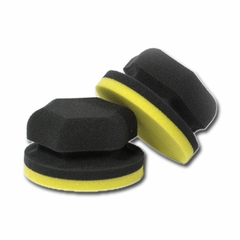 Adam's Polishes - Hex-Grip Polish Applicator (Yellow)