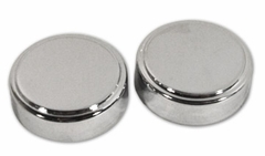 Air Cleaner Knob Cover Caps Chrome