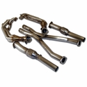 B&B Corvette Long Tube Headers w/X-Pipe and Cat's (97-00 C5)