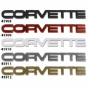 C4 1984-1990 Acrylic Rear Emblems