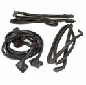 C4 1990-1996 Corvette Weatherstrip Kit - Convertible Body 4 Pc.