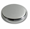 C4 Corvette Air Conditioner Receiver/Dryer Cap Cover - Stainless Steel
