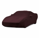 C4 Corvette Indoor Car Cover - 40th Anniversary Ruby Red