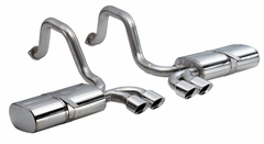 "C5/C5 Z06 Corsa Indy Pace Car Axle-Back Corvette Exhaust - Quad 3.5"" Pro Series"