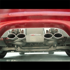 C5 / C5 Z06 Exhaust Port Filler Panel w/ Z06 Emblem (97-04)