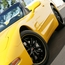 C5 C6 Corvette Wheel Package - SR1 APEX Gloss Black With Yellow Pinstripe1 Piece Aluminum (97-12 C5 / C5 Z06 / C6)