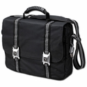 C5 Corvette Messenger Laptop/Briefcase Storage Bag - Black