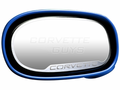 C5 Corvette Style 2pc Side View Mirror Trim