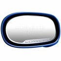 C5 Corvette Style 2pc Side View Mirror Trim -  C507-1