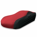 C5 Corvette Ultraguard Car Cover - Indoor/Outdoor Protection : Red/Black