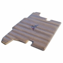 C5 Coupe Corvette Cargo Mat Protector - Clear