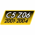 C5 Z06 Corvette Inserts & Decals