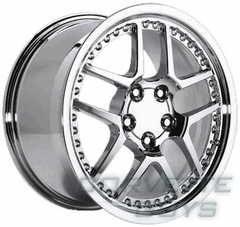 C5 Z06 Motorsport Style Wheel - Chrome (17x9.5)