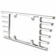 C6 & C7 Corvette Billet Open End License Plate Frame