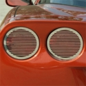 C6 Corvette Billet Tail Light Covers  (05-13 C6 / Z06)
