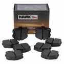 C6 Corvette Brake Pads - Hawk HPS (Street) Rear  - Hawk Performance Breaks HB532F.570