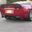 C6 Corvette Carbon Fiber Rear Diffuser/Exhaust Panel - click to enlarge