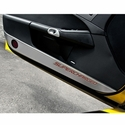 C6 Corvette Door Guards with Carbon Fiber Inlay