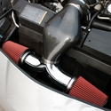 C6 Corvette Dual Flow Intake System - Chrome