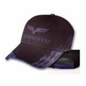 C6 Corvette - Embroidered Bad Vette Hat Blue