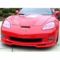 C6 Corvette Front Chin Splitter - Custom Painted